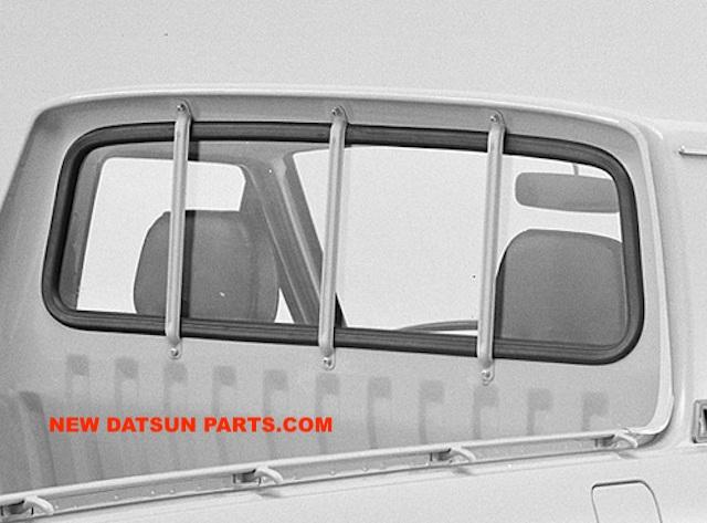 Datsun 1200 Sunny B110 4door 2dr sedan front windshield weatherstrip rubber seal