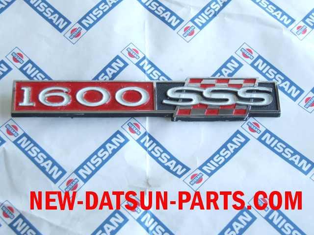 Datsun 510 Parts, (aka Bluebird) Emblems