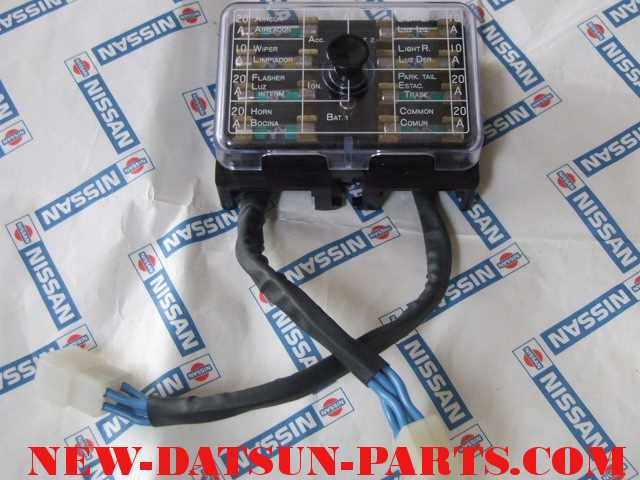 reb01 datsun roadster, datsun fairlady,electrical, datsun 1600, datsun 2000 datsun 510 fuse box at webbmarketing.co