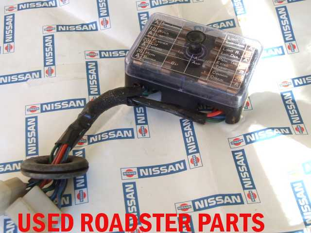 Used A on 1968 Datsun Roadster Fuse Box