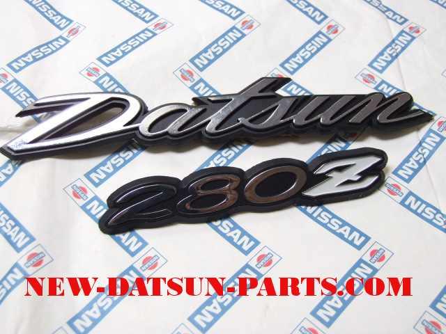 Datsun 240Z Parts, 260Z, 280Z, 280ZX,Emblems